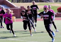 Think Pink Football Game Raises More Than $1,500 for Breast Cancer Research