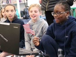 Fourth Graders Build Sustainable Flashlights, Friendships, Global Competencies with Students Overseas