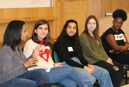 Over 50 Young Alums Return to Share College, Career Perspectives and Tips with Upper School
