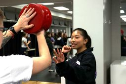 A Day of Self-Defense and Empowerment Training for Eighth Graders
