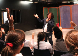 New York Times-Bestselling Author Sharon Draper Speaks with LS and MS Students