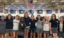 Ten MS Fall Athletes Honored with Panther Pride Award